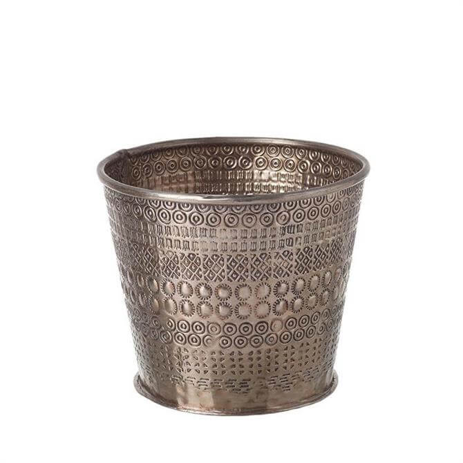 Parlane Rikisha Aluminium Rose Gold Large Planter